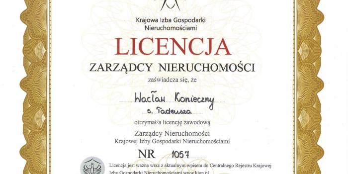 /dokumenty/ – licencje